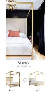 z gallerie furniture quality. Z Gallerie Enzo Bed Copycatchic On Gallery Beds Furniture Quality E