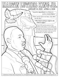 Among the various aspects that colouring pages and printable drawings allow you to cover, some of the greatest benefits joined with painting for children through the use of different colors, they can express themselves without the use of words. Dr Martin Luther King Jr Day Free Online Coloring Page Coloring Books