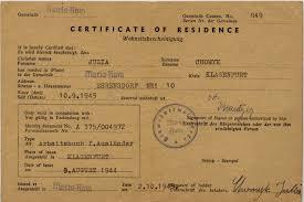 Of Residence Yulia Fedechko Nee Yulia Khomyk Con Certificate Of
