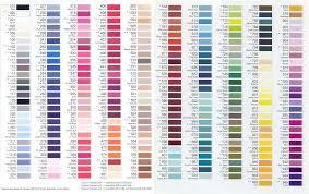 Pms Thread Color Chart Www Bedowntowndaytona Com
