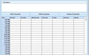 Scheduel Maker Schedule Maker Template Inspirational 4 Daily Schedule Maker At Best