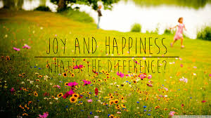 Happiness vs Joy