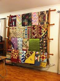 Best 25+ Quilting room ideas on Pinterest | Sewing rooms, Ikea ... & Quilt Racks- Do you have one? Can I see and hear about it? - Quilters Club  of America Some interesting patterns; I tend towards solid quilt fabrics Adamdwight.com