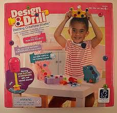 Educational Toy Design Drill And Design 4 Princess Projects New Pink Educational