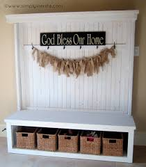 home entryway furniture. Front Entry Bench Simply Kierste Design Co Home Entryway Furniture L