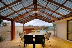 Simple Outdoor Covered Patio Plans Placement