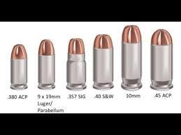 Handgun Ammo Chart Handgun Stopping Power