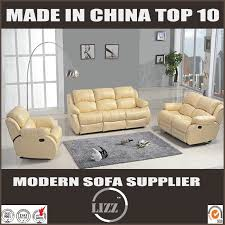 china modern sectional genuine leather recliner sofa china soft sofa lounge