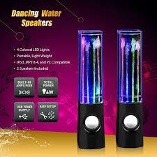 speakers light up. 01 dancing water speaker speakers light up