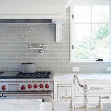 kitchen white glass backsplash. Gray Glass Subway Tile Kitchen White Backsplash