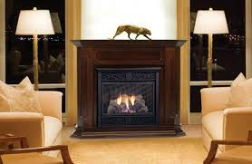 Chesapeake 24 Inch Vent Free Gas Fireplace  Remote Ready  With Ventless Fireplaces