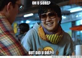 Oh u sore?... - Ken Jeong Meme Generator Captionator via Relatably.com