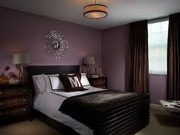 brown and purple bedroom photo - 1