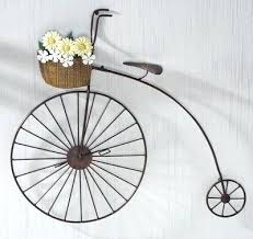 bicycle wall art metal walls vintage bike decor and primitives on with regard to bicycle wall bicycle wall art metal  on bicycle metal wall art uk with bicycle wall art rattan metal bicycle wall art in brown black