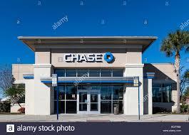 chase bank branch orlando florida usa stock image