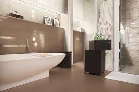 Pavimento Scuro Bagno : Idee bagno moderno grigio interno di decorazione