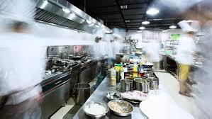 Exellent Busy Restaurant Kitchen Kitchens Serve Up Hostile Working Environments Tvoorg For Models Ideas