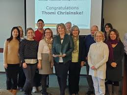 """Prabu David on Twitter: """"Congrats to Thomi Chrisinski on her CT recognition  award. Our staff are the backbone of our college and university and Thomi  is a special staff member, most deserving"""