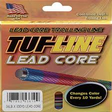 27 Lb Lead Core Depth Chart Detailed Lead Core Line Depth Chart Watersports Magazine
