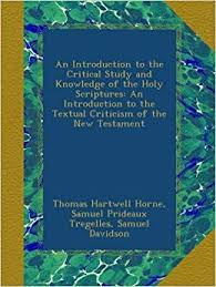 An <b>Introduction</b> to the Critical Study and Knowledge of the Holy ...