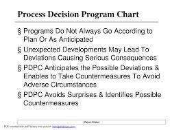 Process Decision Program Chart Lecture Production