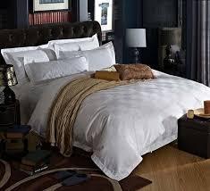 five stars hotel cotton satin luxury white hotel bed linen bedspreads elegant bedding set font