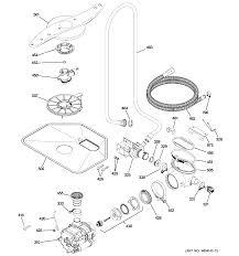Ge Profile Dishwasher Filter Ge Dishwasher Parts Model Pdw8480j00ss Sears Partsdirect