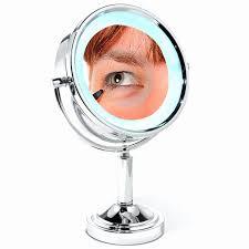 10x fold away lighted travel makeup mirror d111a inspirational conair travel lighted makeup mirror