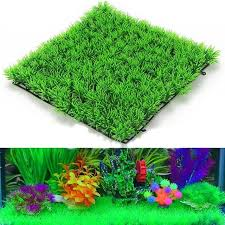 Small Picture Aliexpresscom Buy NEW Fish Tank Square Artificial Grass Lawn