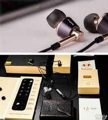 <b>Наушники 1MORE E1001</b> Gold Triple Driver In-Ear <b>Headphones</b> ...