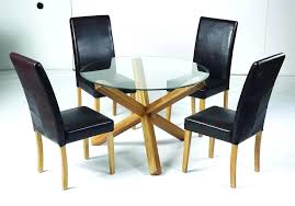 oak and glass table top round glass top dining table with oak legs club solid with oak and glass table staggering oak glass dining