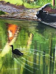Autumnal Reflections by Nell Mcgregor