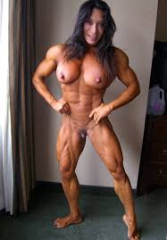 Beautiful muscle babes nude