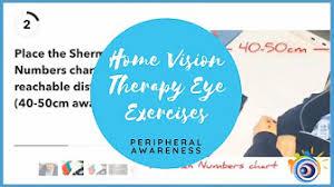 Peripheral Awareness Chart Peripheral Awareness Vision Therapy Eye Exercises Youtube