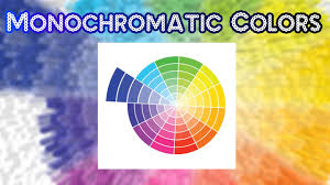 what is monochromatic colors. monochromatic colors what is h