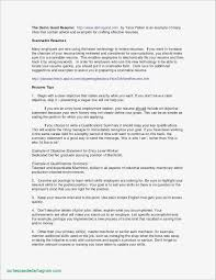 Things To Say On A Resume Fresh 18 Elegant Help Writing A Resume