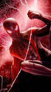 Spider-man Miles Morales Game Action 4K ...