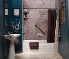 Dark Blue Bathroom Blue And Brown Bathroom Ideas