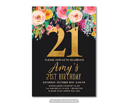 21st birthday invitations as a result of applying glamorous invitation template in your birthday invitation template 26