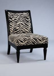 powell metro black accent chair with white onyx tiger striped fabric