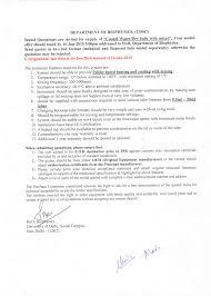 Air Conditioner Amc Agreement Format Tenders Quotations University Of Delhi