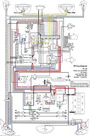 thesamba com beetle late model super 1968 up view topic if you have a 3 or 4 prong flasher relay you want to follow this diagram