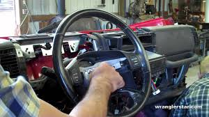 how to remove jeep wrangler steering wheel how to remove jeep wrangler steering wheel