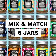 A Mix and Match Flavoured Instant <b>Coffee</b> Box - Little's