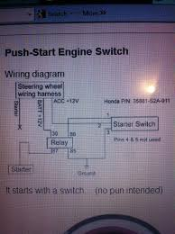 push button start install plz help ls1tech now this way did not work at all for me i got nthing from the starter and the led lights in the switches and button did not work i rewired it differently