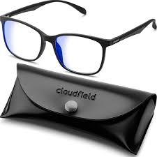 Blue Light Eyeglasses Blue Light Blocking Glasses For Women Men Black Square Nerd Eyeglasses Frame Anti Blue Ray Computer Gaming Glasses Transparent Uv Lenses For
