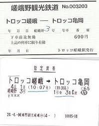嵐山トロッコ列車と十三まいり嵐山嵯峨野太秦桂京都の旅行記