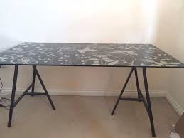 lighting exquisite ikea glass table top but pattern desk steps help