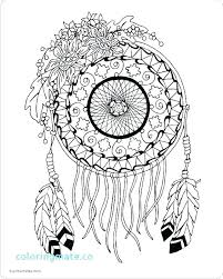 Coloring Pages Of Dream Catchers Soundpushr