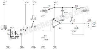 motor speed sensor module circuit motor speed sensor module circuit